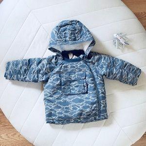H&M kids padded winter jacket Size 1 1/2-2Y